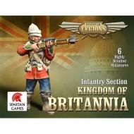 Kingdom of Britannia Line Infantry Section
