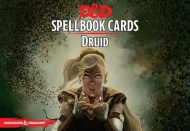 Spellbook Cards Druid