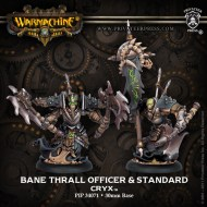 bane thrall officer and standard cryx unit attachment