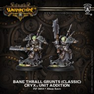 bane thralls grunts (classic) cryx unit addition