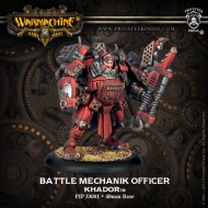 battle mechanik officer khador
