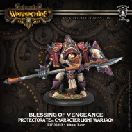 blessing of vengeance protectorate character light warjack
